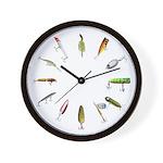 Fishing Lure Wall Clock