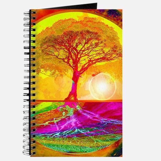 Gold Sunlight Tree of Life Journal