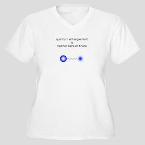 Quantum Physics Women's Plus Size V-Neck T-Shirt