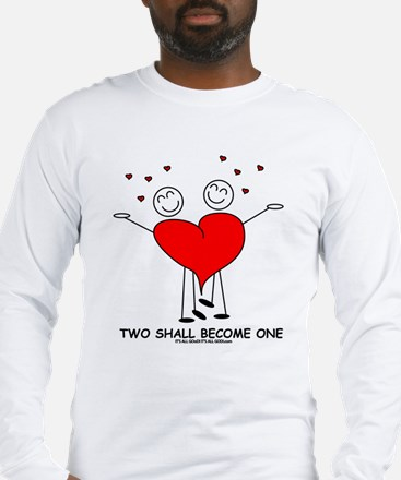 One Heart Long Sleeve T-Shirt