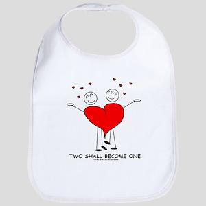 One Heart Bib