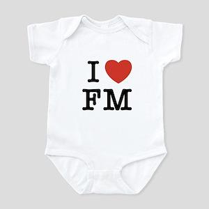 I Heart FM Infant Bodysuit