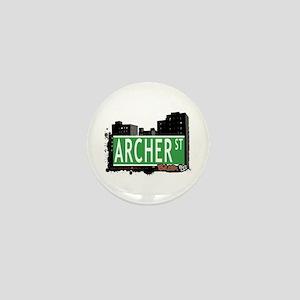 Archer St, Bronx NYC Mini Button