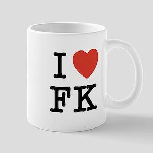 I Heart FK Mug