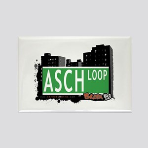 Asch Loop, Bronx NYC Rectangle Magnet