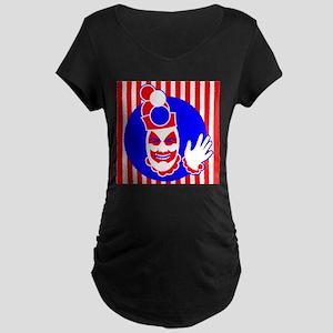 Pogo the Clown Maternity Dark T-Shirt