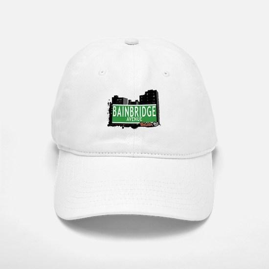 Bainbridge Av, Bronx, NYC Baseball Baseball Cap