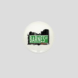 Barnes Av, Bronx, NYC Mini Button