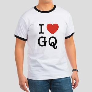I Heart GQ Ringer T