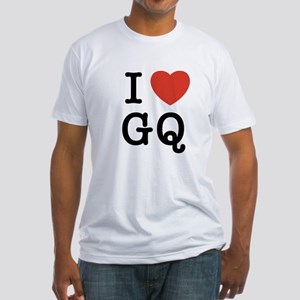 I Heart GQ Fitted T-Shirt