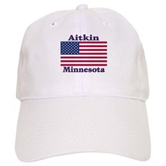 Aitkin US Flag Baseball Cap