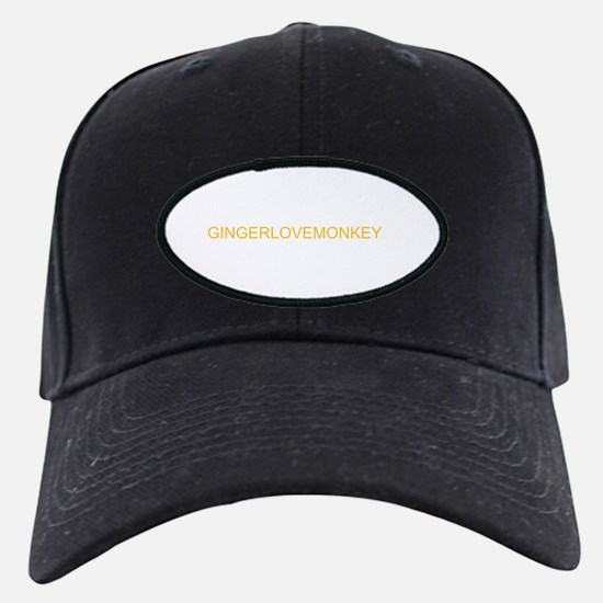 gingerlovemonkey Baseball Hat