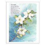 Surrender/Pacific Dogwood Small Poster