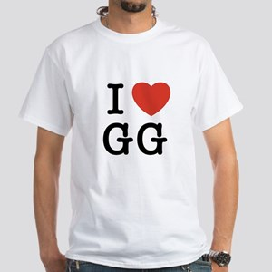 I Heart GG White T-Shirt