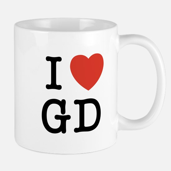 I Heart GD Mug