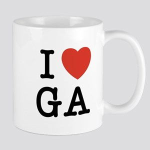 I Heart GA Mug