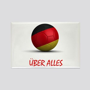 Uber Alles Rectangle Magnet
