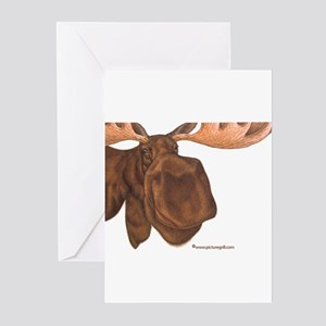 moose Greeting Cards (Pk of 10)