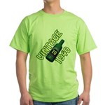 70th Birthday Green T-Shirt