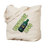 70th Birthday Tote Bag