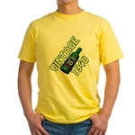 70th Birthday Yellow T-Shirt