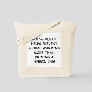 Going Vegan Tote Bag