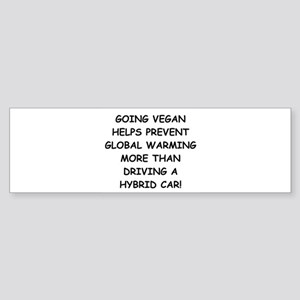 Going Vegan Sticker (Bumper)