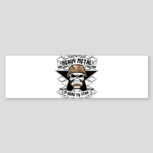 Heavy Metal 2 Bumper Sticker