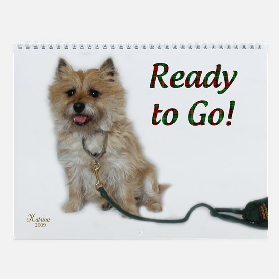 Cairn Terrier Wall Calendar