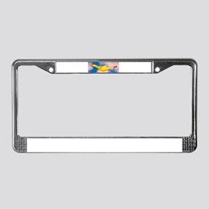 Rubber Chicken License Plate Frame
