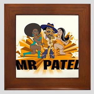 Mr Patel Framed Tile