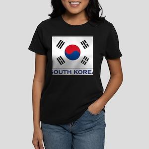 South Korea Flag Stuff Women's T-Shirt