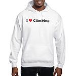 I Love Climbing Hooded Sweatshirt