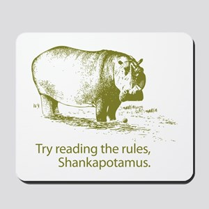 Shankapotamus Mousepad
