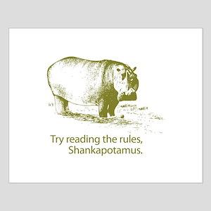 Shankapotamus Small Poster