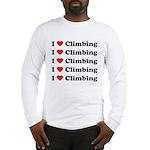 I Love Climbing (A lot) Long Sleeve T-Shirt
