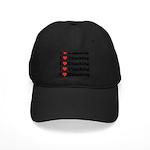 I Love Climbing (A lot) Black Cap