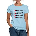 I Love Climbing (A lot) Women's Light T-Shirt