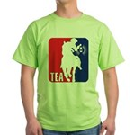Tea Party Paul Revere Logo Green T-Shirt