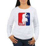 Tea Party Paul Revere Logo Women's Long Sleeve T-S