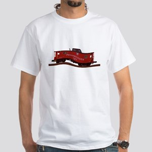 Pennsylvania Caboose White T-Shirt