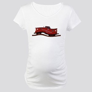 Pennsylvania Caboose Maternity T-Shirt