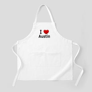 I Love Austin Apron