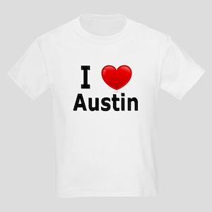 I Love Austin Kids Light T-Shirt