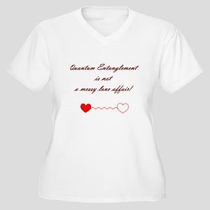 Quantum Physics..not a love a Women's Plus Size V-