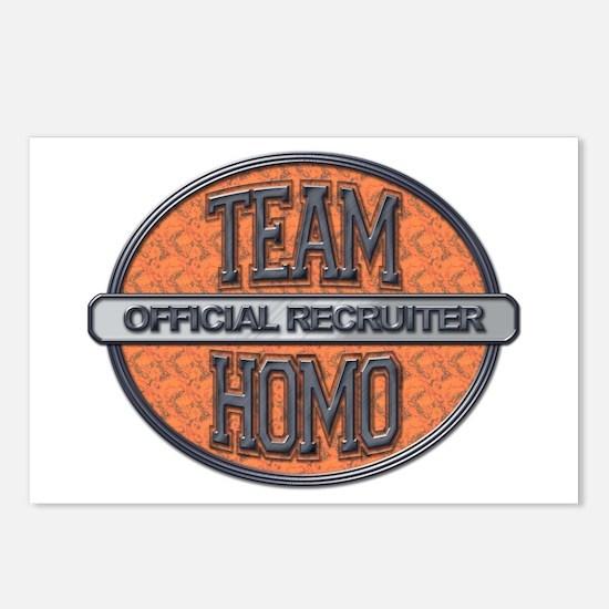 Team Homo Recuiter Postcards (Package of 8)