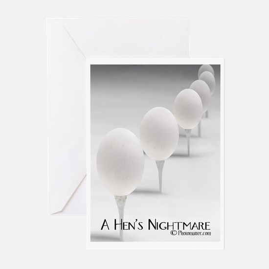 A Hen's Nightmare Greeting Cards (Pk of 20)