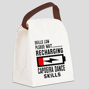 Please wait recharging Capoeira d Canvas Lunch Bag