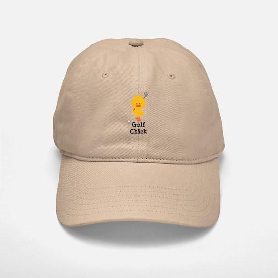 Golf Chick Baseball Baseball Cap