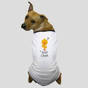 Golf Chick Dog T-Shirt